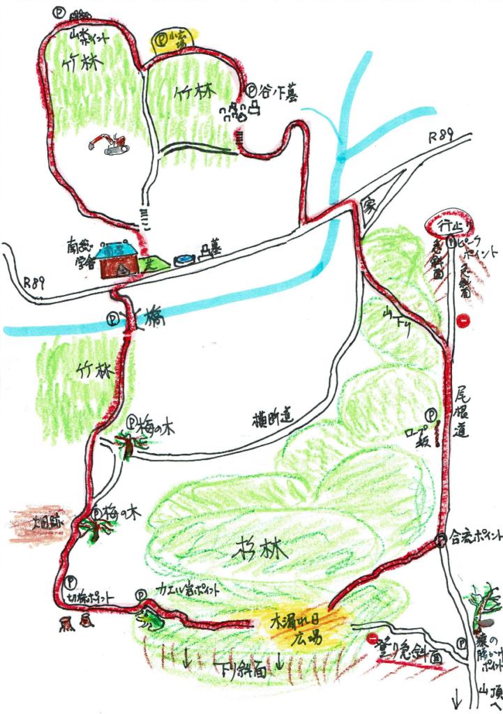 nansogakusha trail map